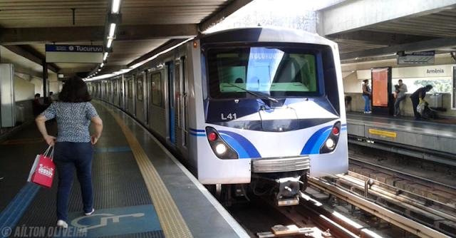 Estação Armênia na Linha 1-Azul ficará fechada das 10h às 15h no sábado (9); haverá ainda reforço no efetivo de agentes de segurança