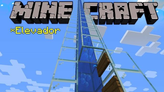 Minecraft: como fazer um elevador de água