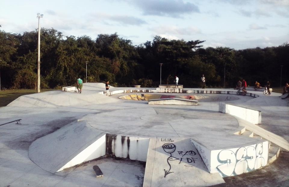 andar de skate em Recife