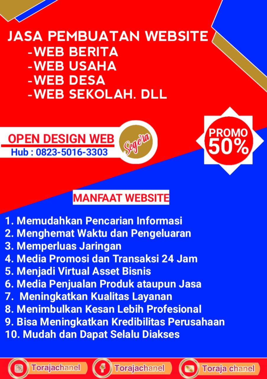 Desain web Toraja