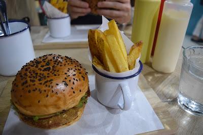 vegan burger boracay