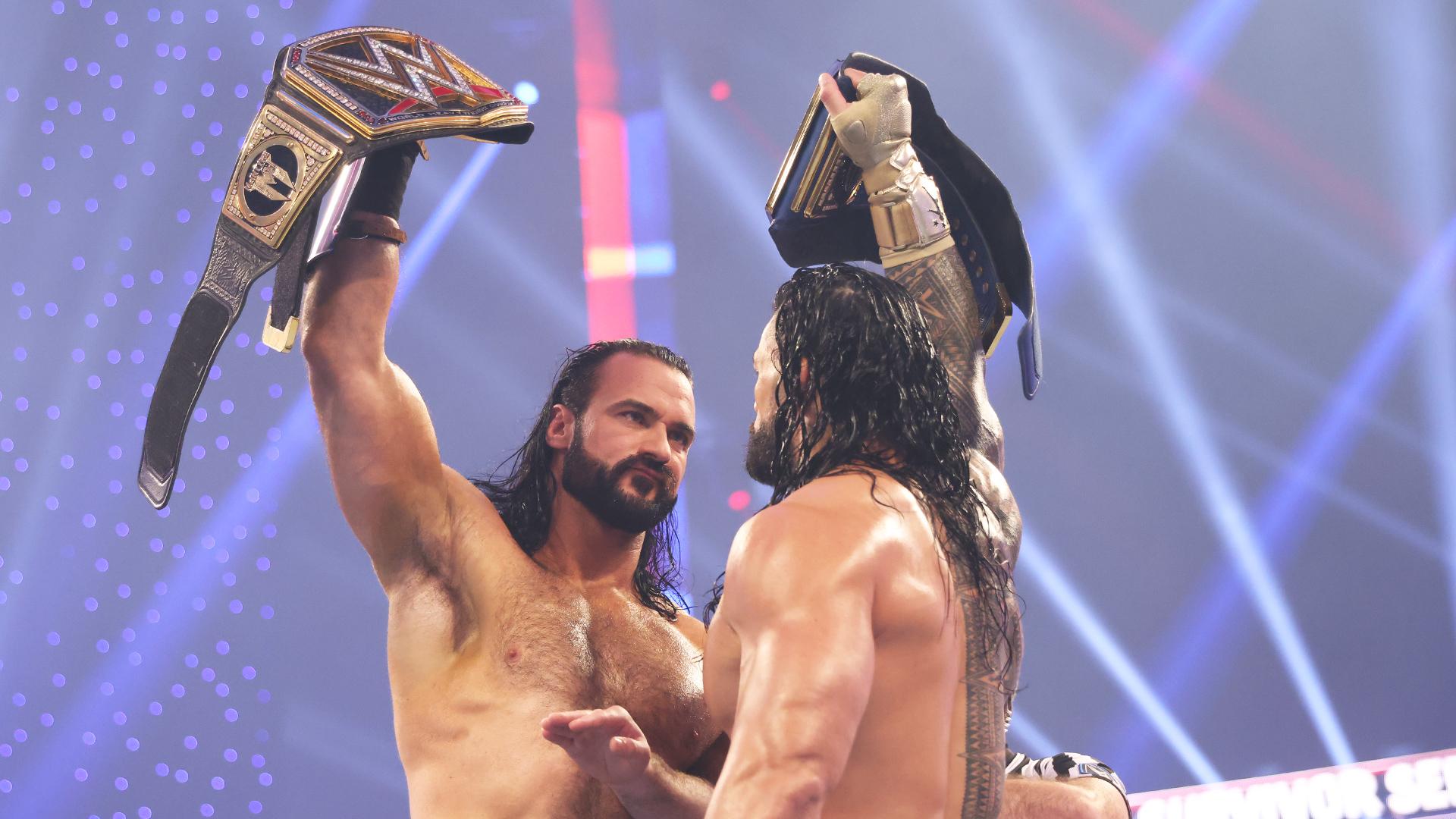 Roman Reigns vence luta brutal frente a Drew McIntyre mas não impede vitória do RAW no Survivor Series