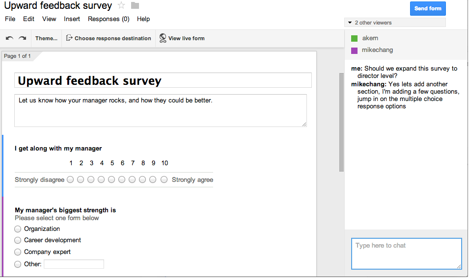 UCSC Google News: Google Forms Refreshed