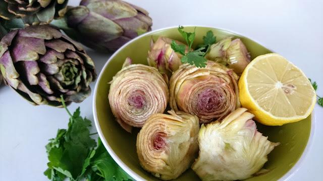Vegan Gluten Free Artichoke Parmigiana Recipe Fresh Artichokes