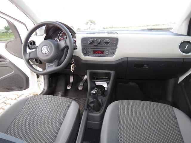VW Up! TSI: 20.000 km - interior