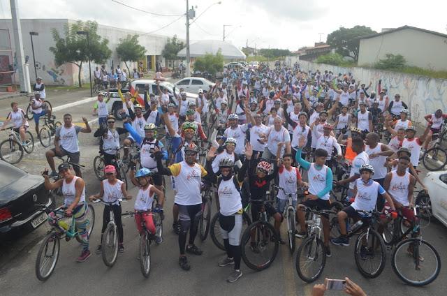 I Passeio Ciclístico de N. S. do Socorro reúne mais de 300 apaixonados pelo esporte