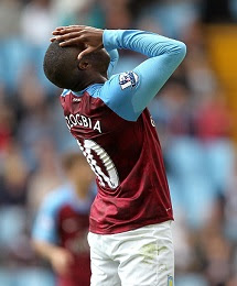 Charles N'Zogbia has been told he no future at Aston Villa