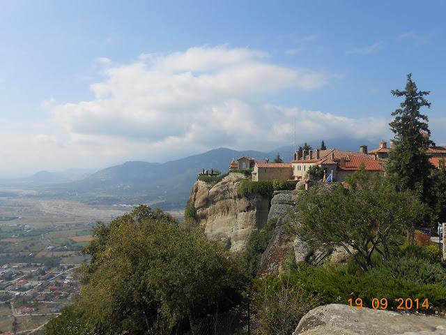 View of Meteora Monasteries