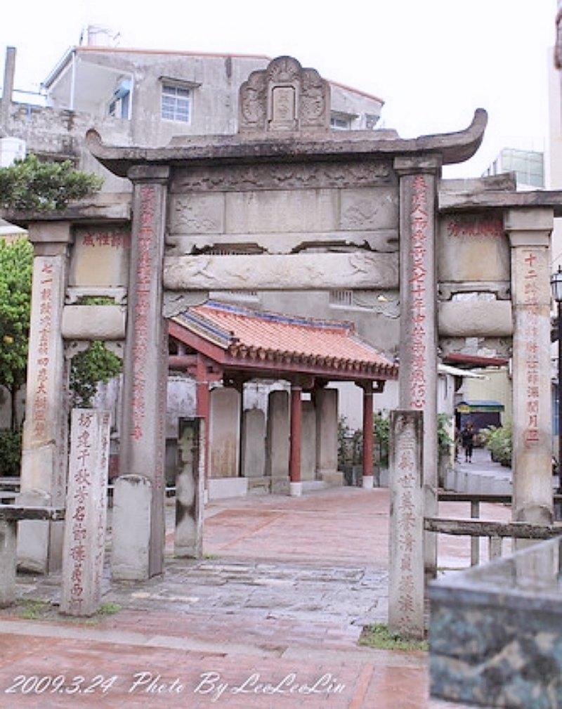 林氏貞孝坊|台中大甲古蹟景點|貞節牌坊