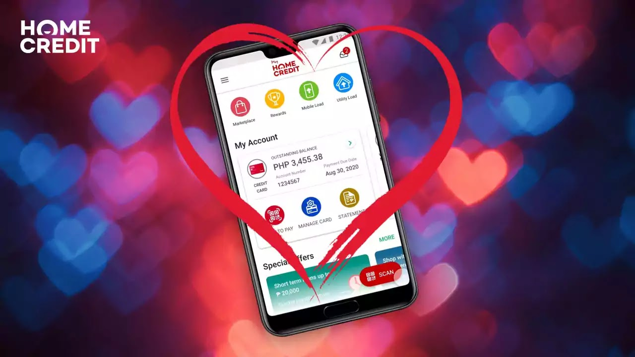 Fall in love with the My Home Credit app