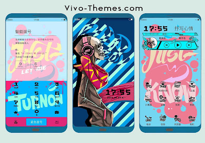 Color Scheme Adobe Theme For Vivo Android Smartphone