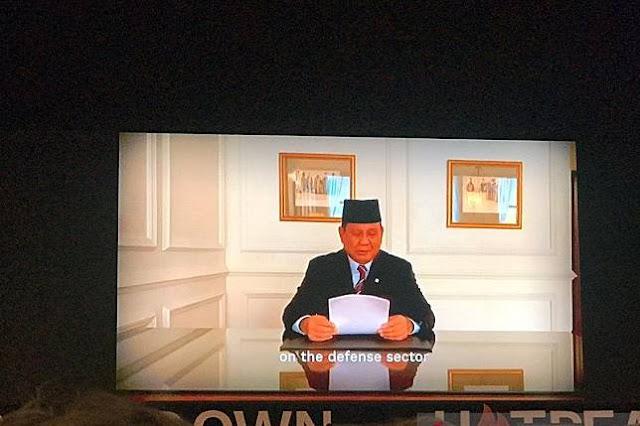 Prabowo: Kami Tak Akan Biarkan RI Diganggu Negara Lain