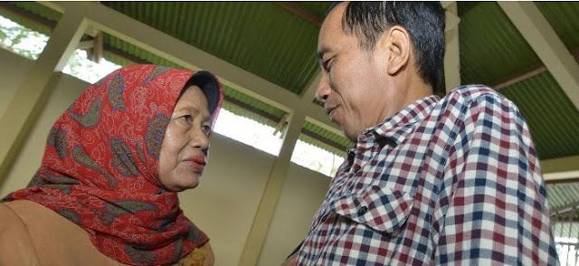 kiri Sudjitami Notomihardjo  ibunda Bpk Jokowi