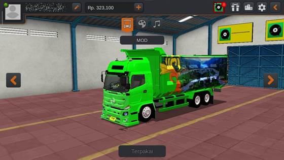 Livery Hino 500 New Dyland Dumptruck