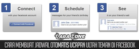 Cara Membuat jadwal Otomatis Ucapan ULTAH Teman di Facebook