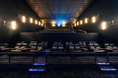 Fasilitas kursi atau tempat duduk untuk Cinepolis VIP