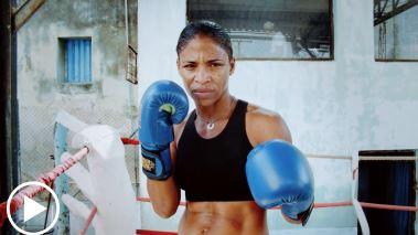 Namibia Flores Rodriguez quiere competir internacionalmente como boxeadora, pero en la Isla no está permitido el boxeo femenino