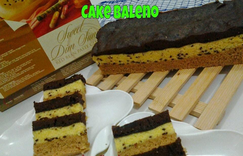 Resep Cake Baleno Brownies Kukus Empuk Lembut