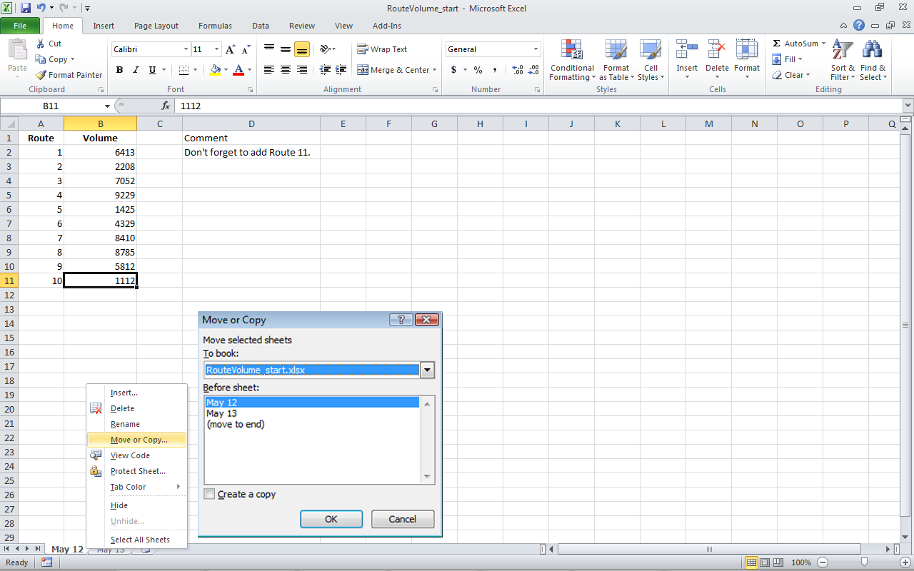 Membuat Copy Dan Cut Worksheet Excel Ideolicious