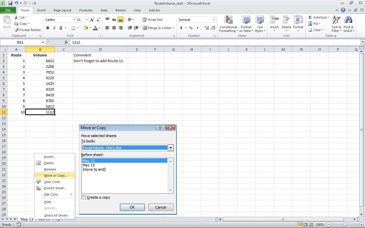 Membuat Copy Dan Cut Worksheet Excel Ideolicious