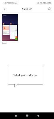 Mi mobiles theme customize