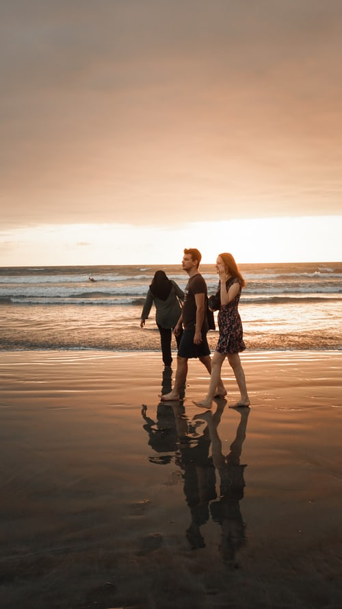 Reflection photography for Couples