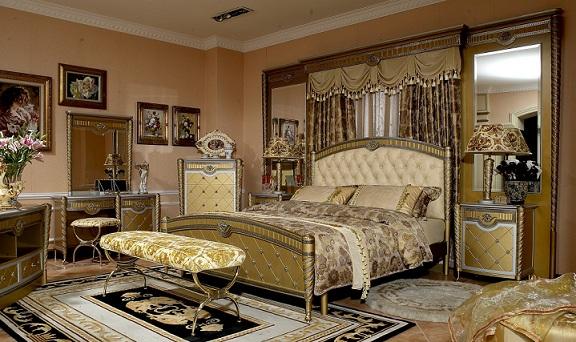 Phòng ngủ mang phong cách tân cổ điển châu âu độc đáo