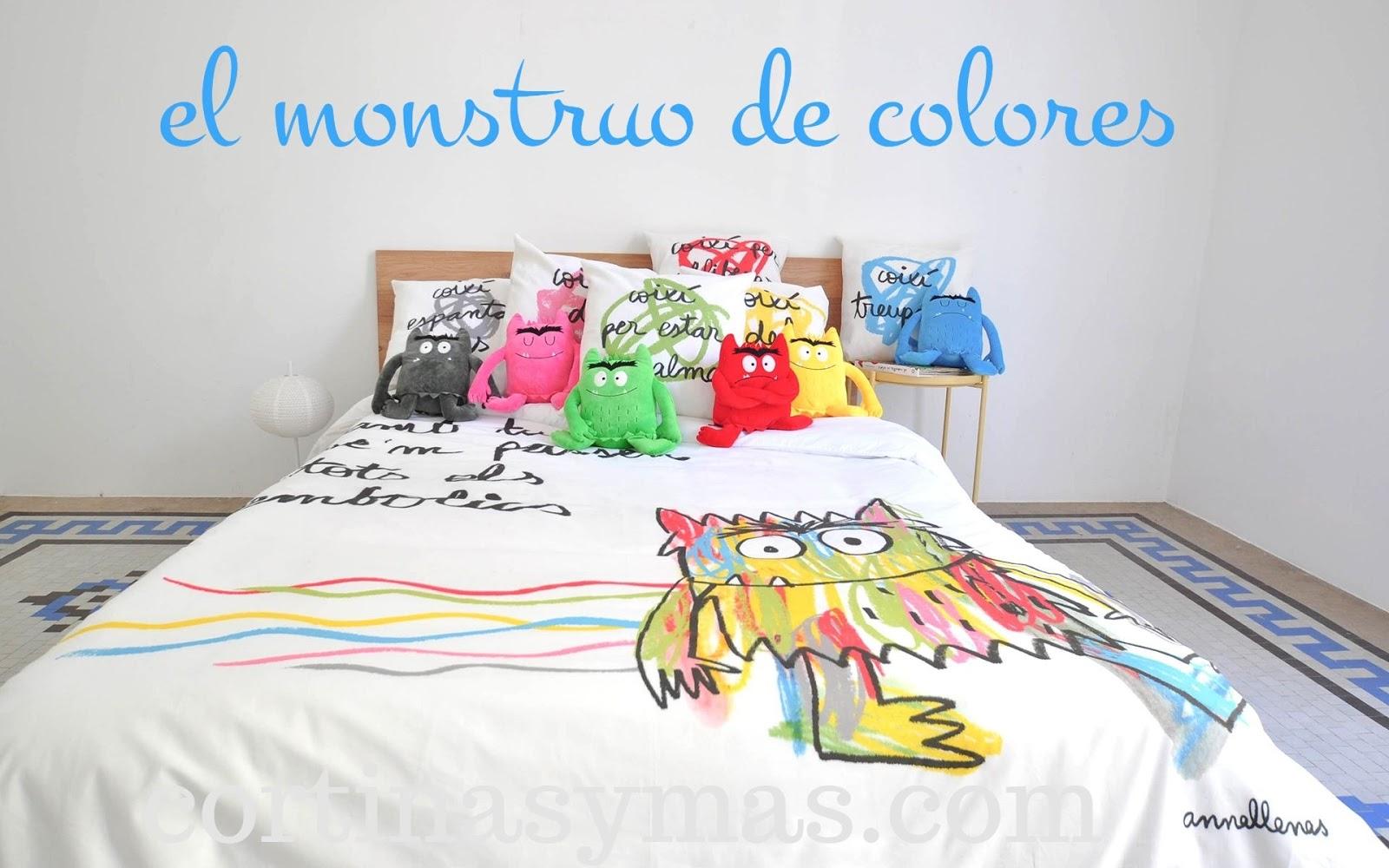 el_monstruo_de_colores_funda_nórdica_decolopezgarcia