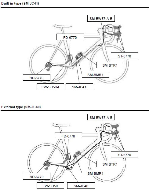 wiring diagram ultegra di2
