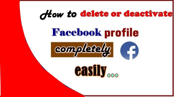 How to deactivate delete facebook account
