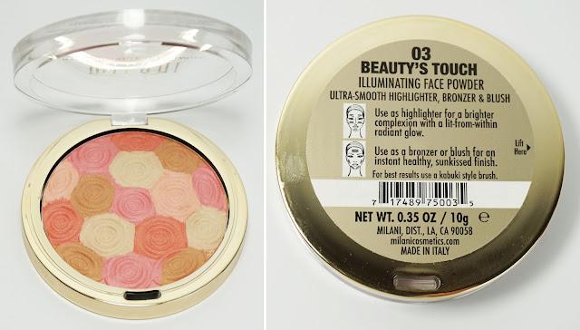 MILANI - Illuminating Face Powder (03 Beauty's Touch)