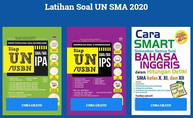 Soal UN SMA Terbaru