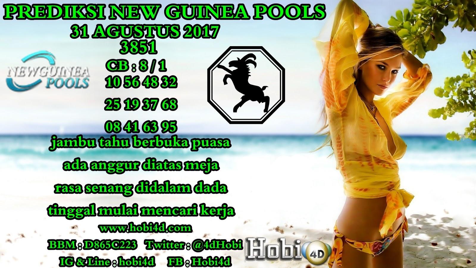 BERITA TERKINI HOBI 4D: PREDIKSI TOGEL NEW GUINEA POOLS 31 ...