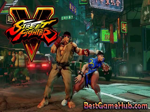 Street Fighter V PC Repack Game Free Download