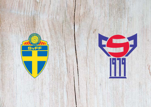Sweden vs Faroe Islands -Highlights 18 November 2019
