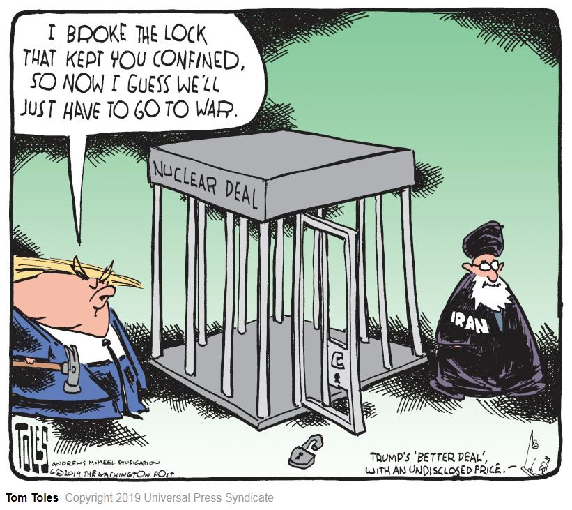 Rhonda's Escape: Political Cartoons 6-23