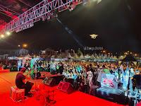 Penampilan Tony Q Rastafara Pukau Penonton di Pekan Raya Lampung