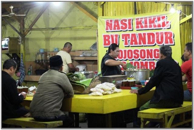 Nasi Kikil Bu Tandur;10 Top Kuliner Jombang;