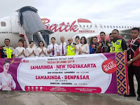 Batik Air, Buka Rute Langsung Samarinda  Denpasar
