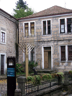 Fachada do museu judaico em Belmonte