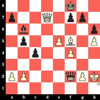 Les Blancs jouent et matent en 4 coups - Herman Steiner vs Ludwig Rellstab Sr, Reggio Emilia, 1951