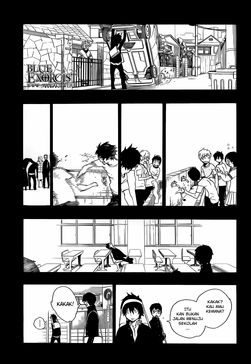 Ao no Exorcist Chapter 11-25