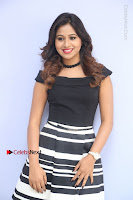 Actress Mi Rathod Pos Black Short Dress at Howrah Bridge Movie Press Meet  0080.JPG
