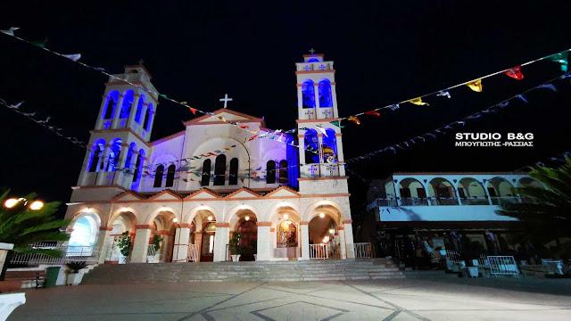 Ναύπλιο: Με ποια μέτρα θα γίνει η προσκύνηση στον εορτάζοντα Ιερό Ναό Ευαγγελίστριας (βίντεο)