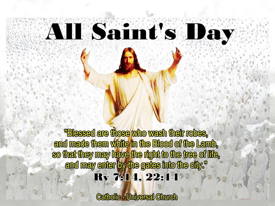 Inspira Smiles !: Happy All Saints' Day
