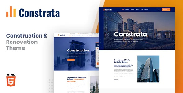 Best Construction and Renovation HTML Template