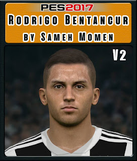 PES 2017 Faces Rodrigo Bentancur by Sameh Momen