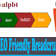 ब्लॉगर के लिए HTML5 Valid SEO Friendly Breadcrumbs