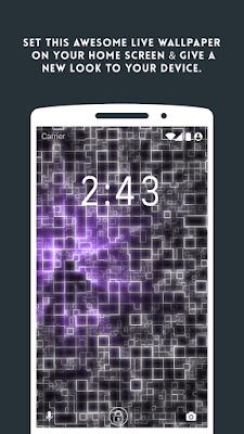 تطبيق رائع يعطيك خلفيات مصفوفات متحركة لأجهزة أندرويد