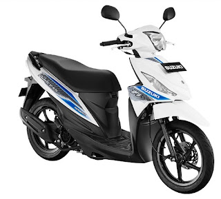 Suzuki Address Warna Brilliant White